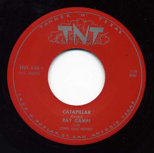 "RAY CAMPI ""Caterpillar / Play It Cool"" 7"""