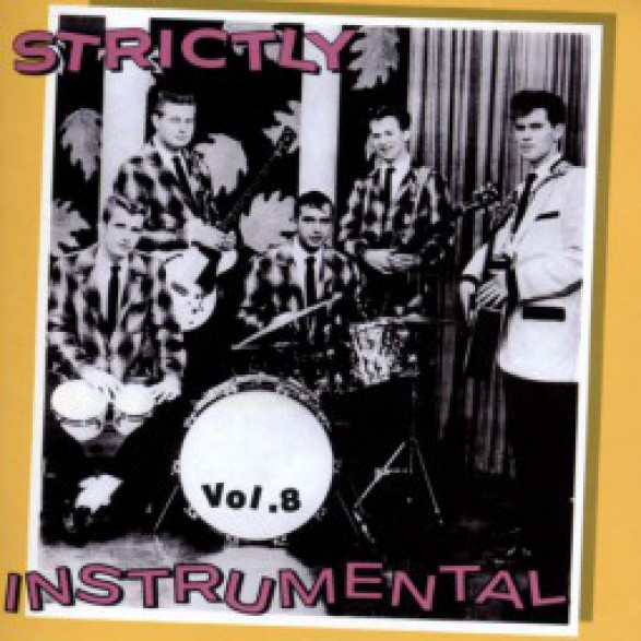 STRICTLY INSTRUMENTAL VOL 8 cd
