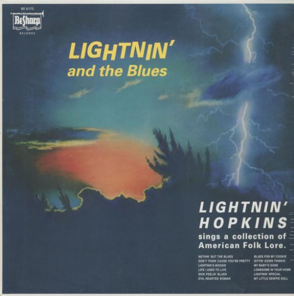 """LIGHTNIN' HOPKINS """"Lightnin' And The Blues"""" LP"""