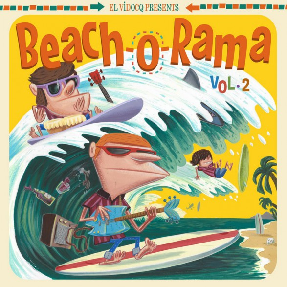 BEACH-O-RAMA Volume 2 LP+CD