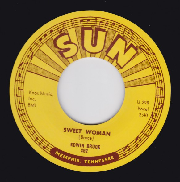 "EDWIN BRUCE ""SWEET WOMAN/ PART OF MY LIFE"" 7"""