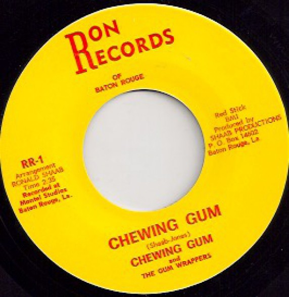 """CHEWING GUM & THE GUM WRAPPERS """"CHEWING GUM / I WANT'A KNOW"""" 7"""""""