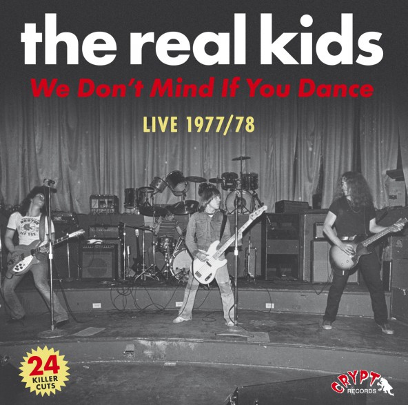 "REAL KIDS ""We Don't Mind If You Dance"" Double LP"