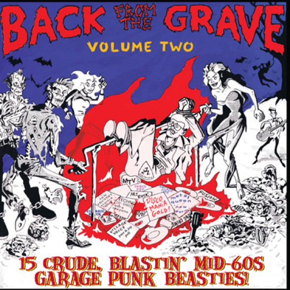 BACK FROM THE GRAVE Volume 2 LP