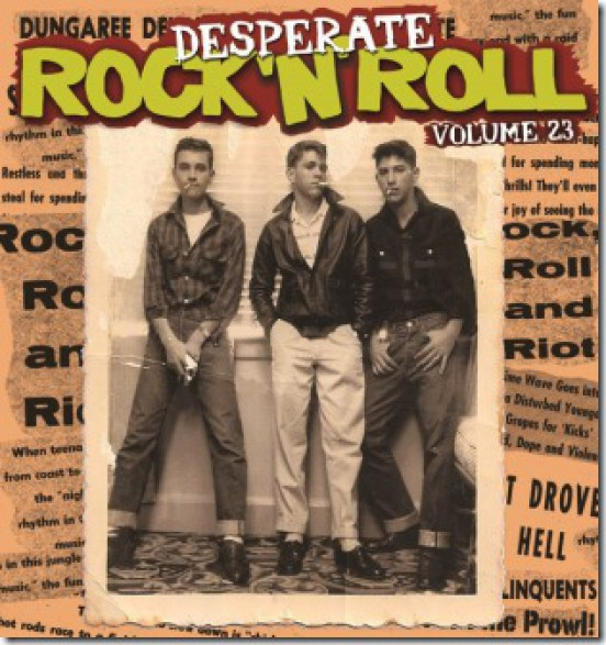 DESPERATE ROCK'N'ROLL VOL 23 LP