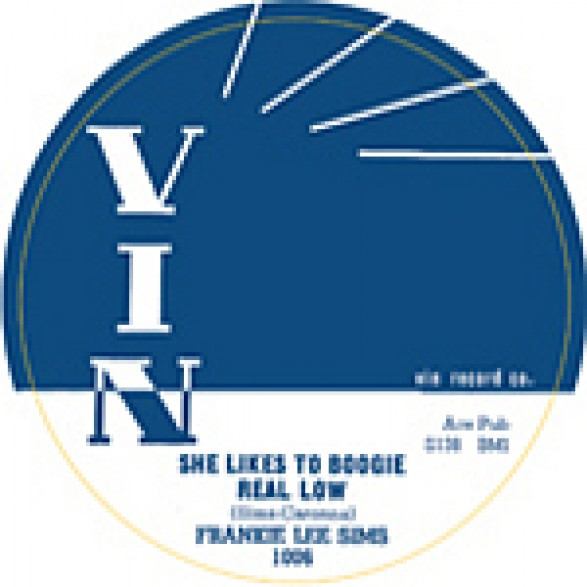 """FRANKIE LEE SIMS """"SHE LIKES TO BOOGIE REAL LOW/Well Goodbye Baby"""" 7"""""""