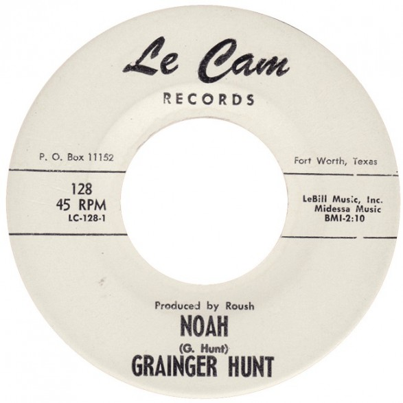 "GRAINGER HUNT ""NOAH / SAY BOSS MAN"" 7"""