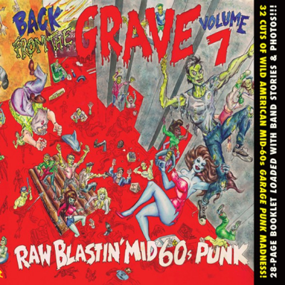BACK FROM THE GRAVE 7 CD