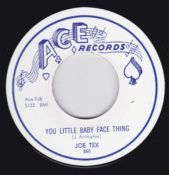 "LITTLE BOOKER (JOE TEX) ""OPEN THE DOOR"" / JOE TEX ""YOU LITTLE BABY FACE THING"" 7"""