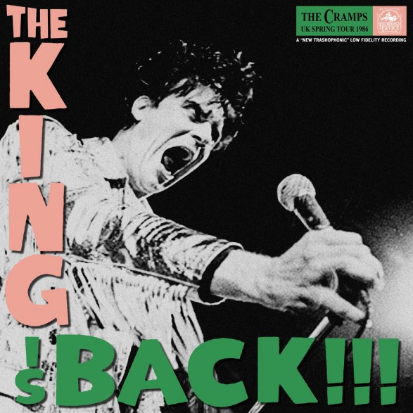 """CRAMPS """"The King Is Back"""" LP"""