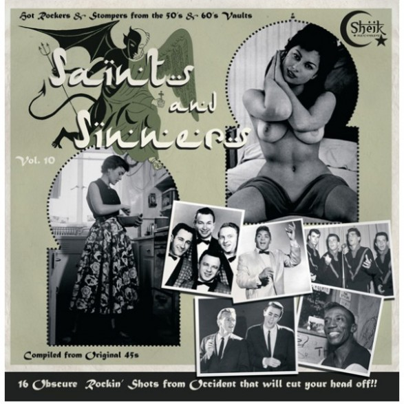 SAINTS AND SINNERS VOL 10 LP