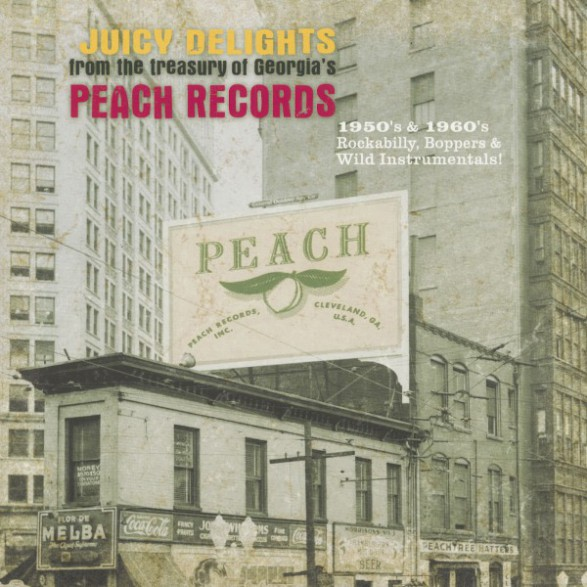 JUICY DELIGHTS From The Treasury of Georgia's Peach Records - Double LP
