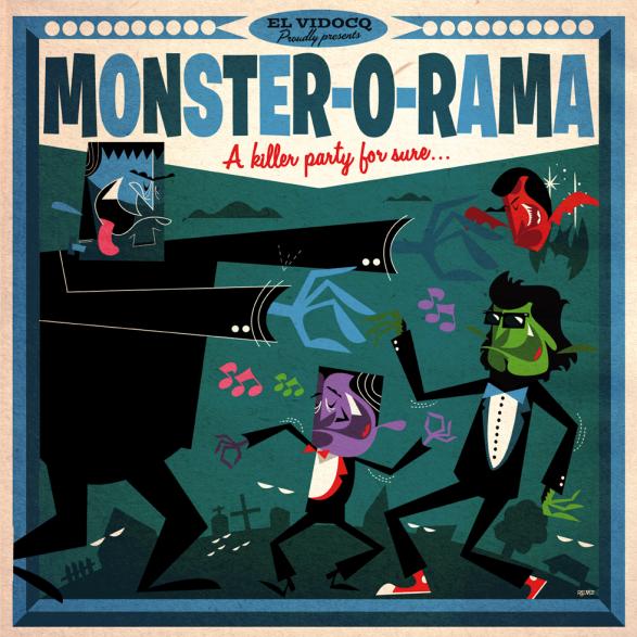 MONSTER-O-RAMA LP+CD