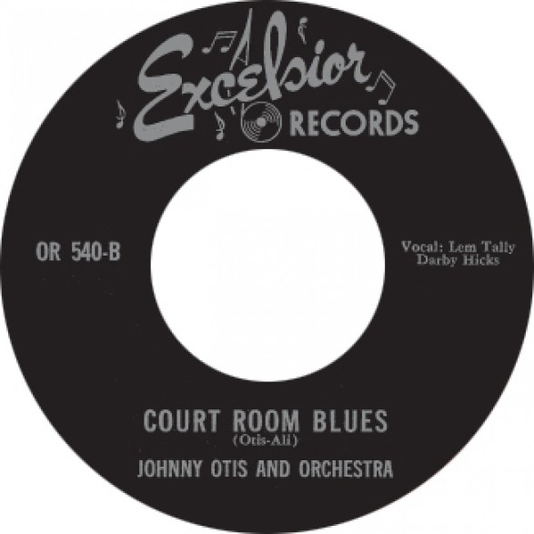 """FOUR BLUEBIRDS """"MY BABY DONE TOLD ME"""" / JOHNNY OTIS """"COURT ROOM BLUES"""" 7"""""""