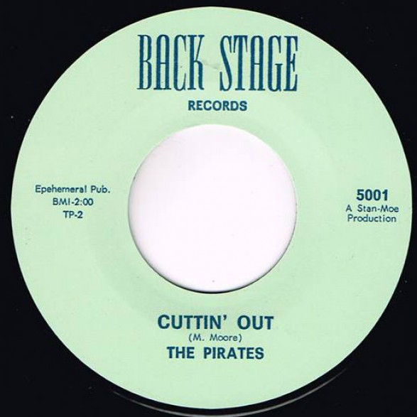 "PIRATES ""CUTTIN' OUT/ NAUGHTY GIRL"" 7"""