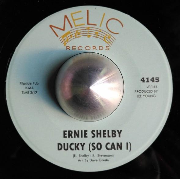 "ERNIE SHELBY ""Ducky (So Can I) / Summertime"" 7"""