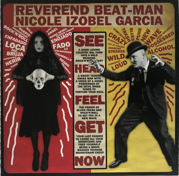 "REVEREND BEAT-MAN & IZOBEL GARCIA ""Baile Bruja Muerto"" LP + CD"