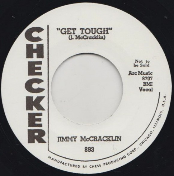 "JIMMY McCRACKLIN ""EVERBODY ROCK / GET TOUGH"" 7"""