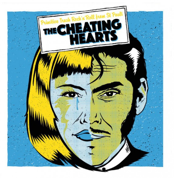 "CHEATING HEARTS ""ALRIGHT EP"" 7"""