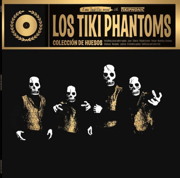 """LOS TIKI PHANTOMS """"Coleccion De Huesos"""" LP"""