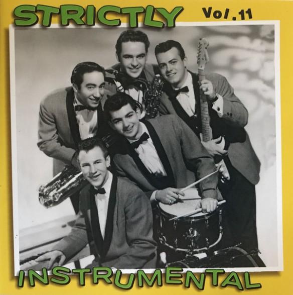 STRICTLY INSTRUMENTAL Vol. 11 cd (Buffalo Bop)