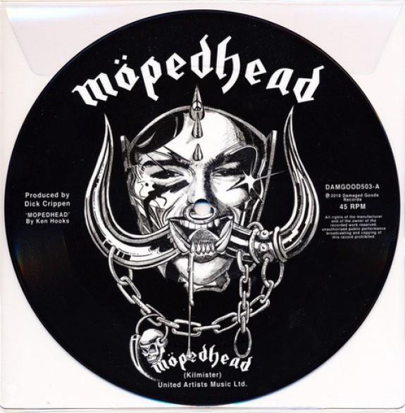 "JOHNNY MOPED ""Möpedhead"" 7"""