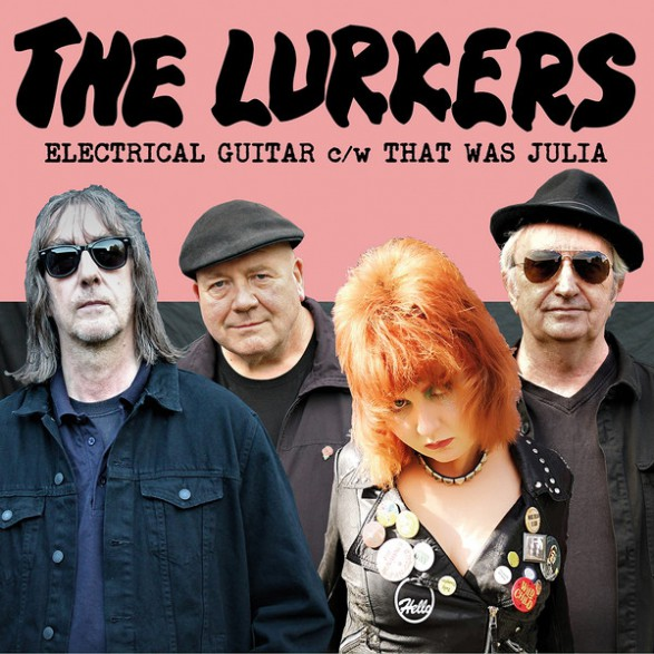 """LURKERS """"Electrical Guitar"""" 7"""""""