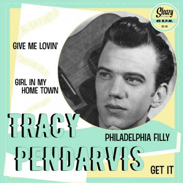 """TRACY PENDARVIS """"Give Me Lovin' plus 3"""" 7"""" EP"""