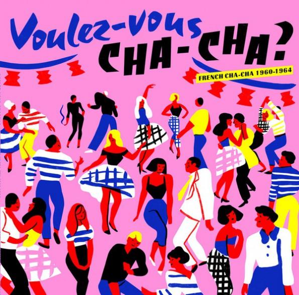 VOULEZ VOUS CHA-CHA - French Cha-Cha 1960-1964 LP