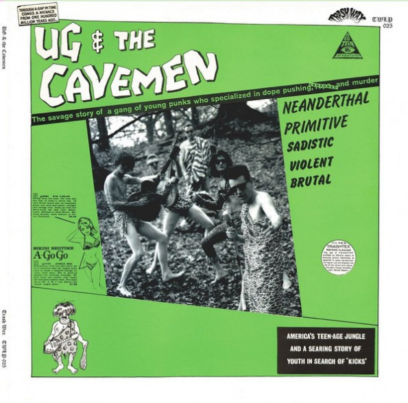 "UG & THE CAVEMEN ""Ug & The Cavemen"" Gatefold LP"