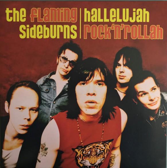 "FLAMING SIDEBURNS ""Allelujah Rock'n'Rollah"" LP"