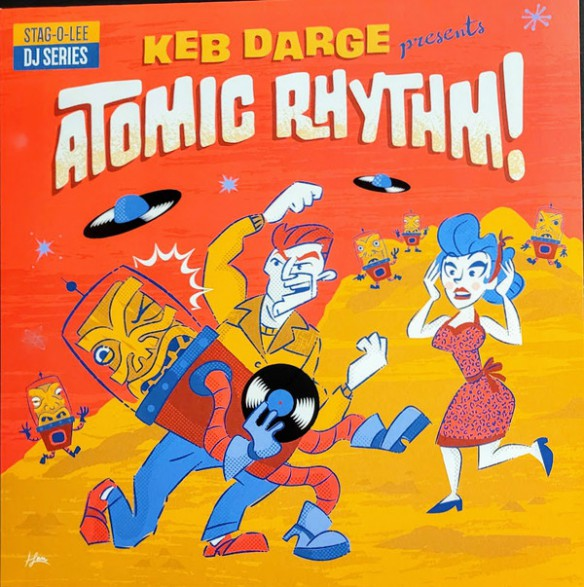 KEB DARGE PRESENTS ATOMIC RHYTHM! Stag-O-Lee DJ Set Vol. 5 CD