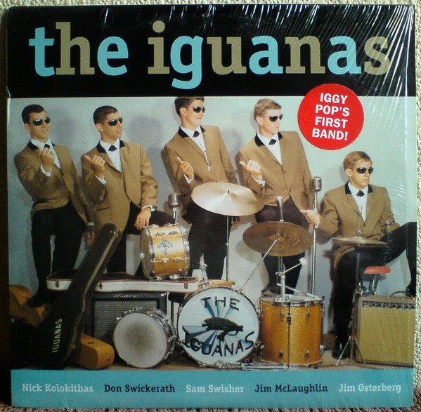 "IGUANAS ""S/T"" LP"