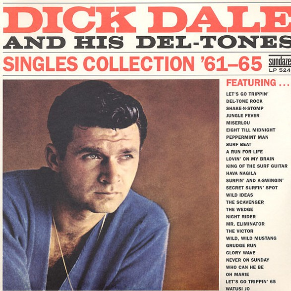 """DICK DALE """"Singles Collection '61-'65"""" Double LP"""
