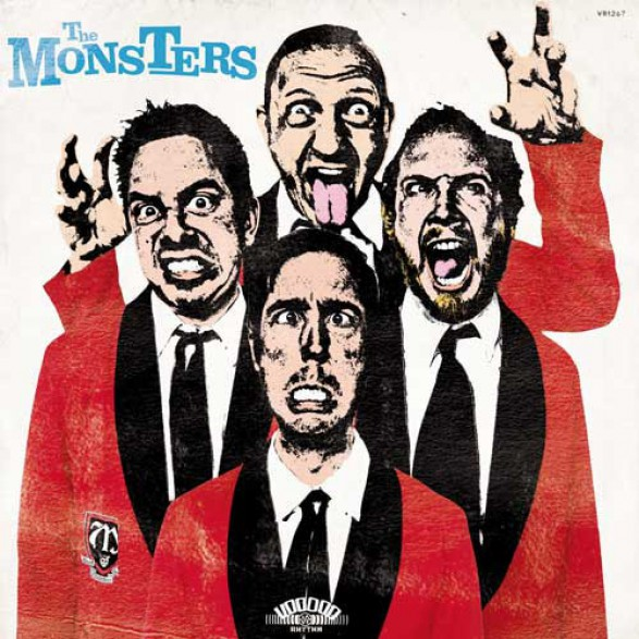 """MONSTERS """"Pop Up Yours"""" LP+CD"""