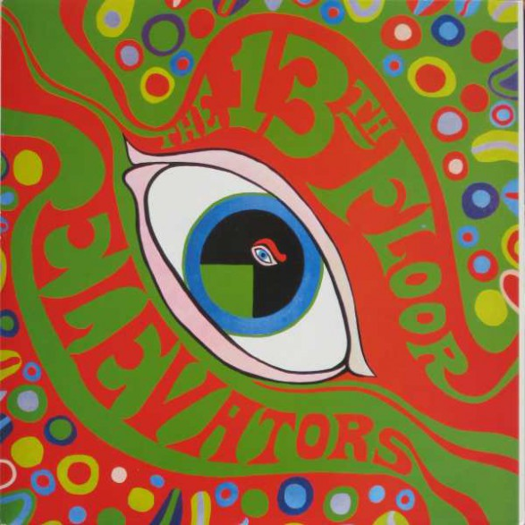 """13th FLOOR ELEVATORS """"THE PSYCHEDELIC SOUNDS OF"""" LP"""