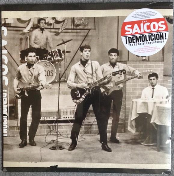 """SAICOS, LOS """"Demolicion: Complete Recordings"""" Gatefold LP"""