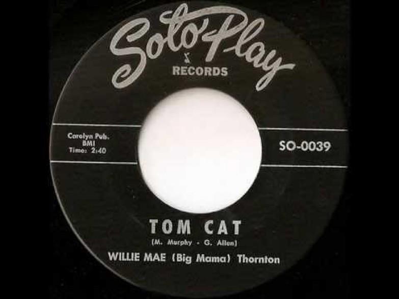 "WILLIE MAE (BIG MAMA) THORNTON ""TOM CAT"" / JIMMY THOMAS ""EVERYDAY"" 7"""