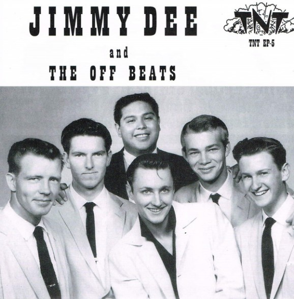 "Jimmy Dee And The Offbeats ""Rock Tick Tock"" 7"""