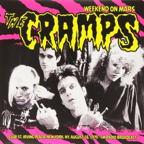 """CRAMPS """"Weekend On Mars"""" LP"""