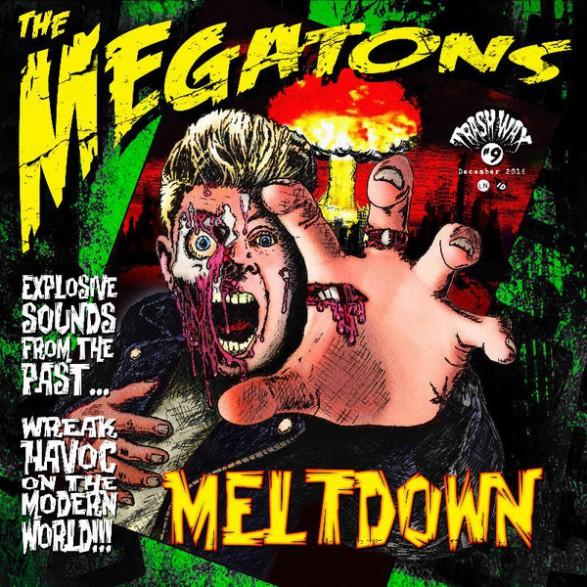 "MEGATONS ""MELTDOWN"" LP (green vinyl)"