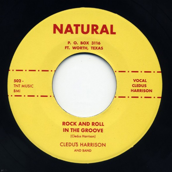 "Cledus Harrison ""Rock And Roll In The Groove / Go On Baby"" 7"""