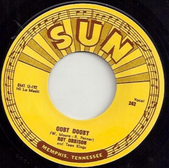 """ROY ORBISON """"OOBY DOOBY / GO! GO! GO!"""" 7"""""""