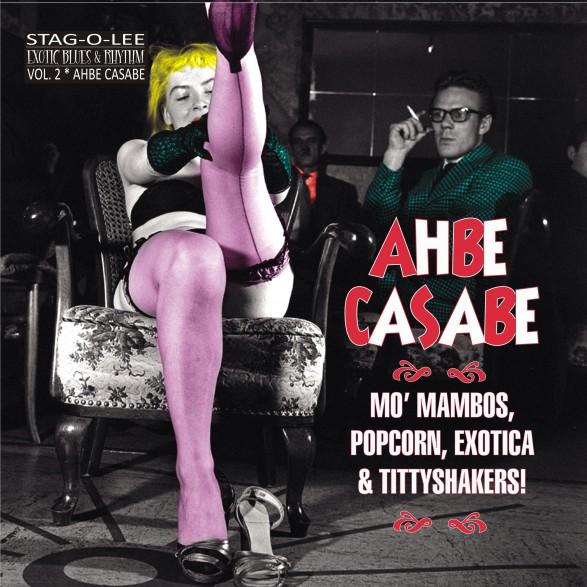 "AHBE CASABE - EXOTIC BLUES & RHYTHM Vol. 2 10"""