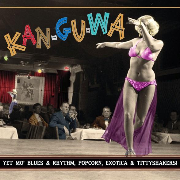 """KAN-GU-WA - EXOTIC BLUES & RHYTHM Vol. 3 10"""""""