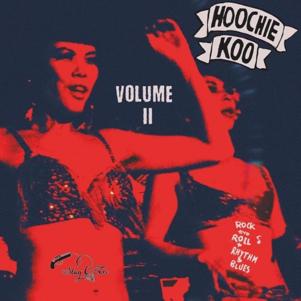 "THE HOOCHIE KOO Volume 2 10"""