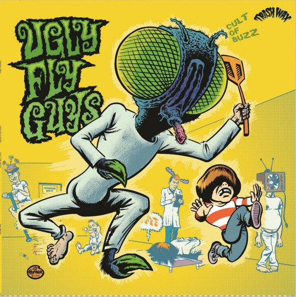 "UGLY FLY GUYS ""Cult Of Buzz"" LP"