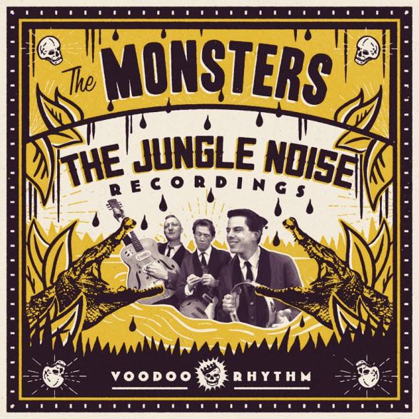 "MONSTERS ""The Jungle Noise Recordings"" LP+CD"