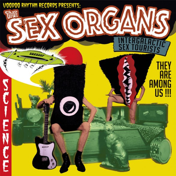 "SEX ORGANS ""Intergalactic Sex Tourists"" LP+CD"
