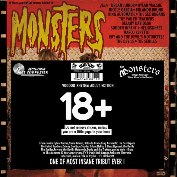 30 YEARS ANNIVERSARY TRIBUTE ALBUM FOR THE MONSTERS LP+CD